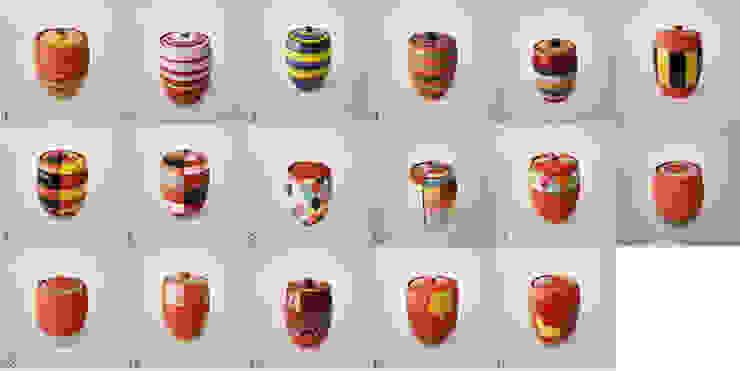 오색빛깔 옹기 항아리 ( Autumnal colors pottery jar ): 하랑(HARANG ceramic studio) 의 아시아틱 ,한옥