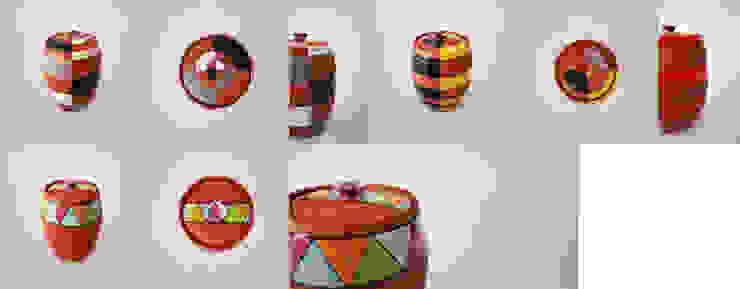 오색빛깔 옹기 항아리 : 하랑(HARANG ceramic studio) 의 현대 ,모던
