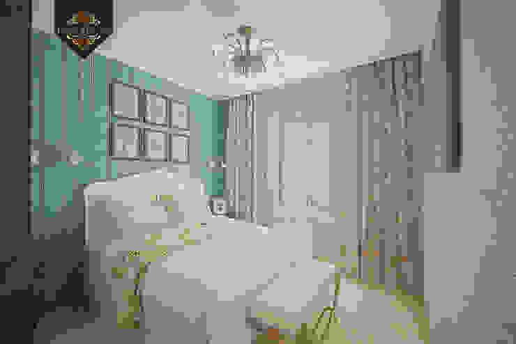 Уютный минимализм Спальня в рустикальном стиле от Decor&Design Рустикальный