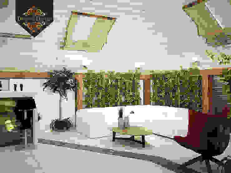 Jardins de inverno tropicais por Decor&Design Tropical
