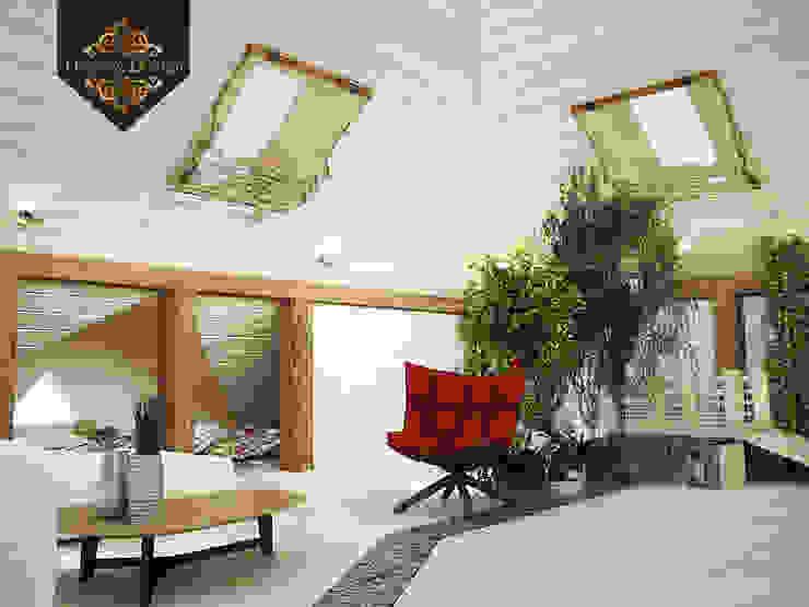 Уютный минимализм Зимний сад в тропическом стиле от Decor&Design Тропический