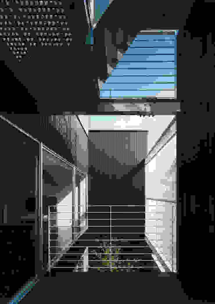 大東の家 モダンデザインの テラス の 中間建築設計工房/NAKAMA ATELIER モダン