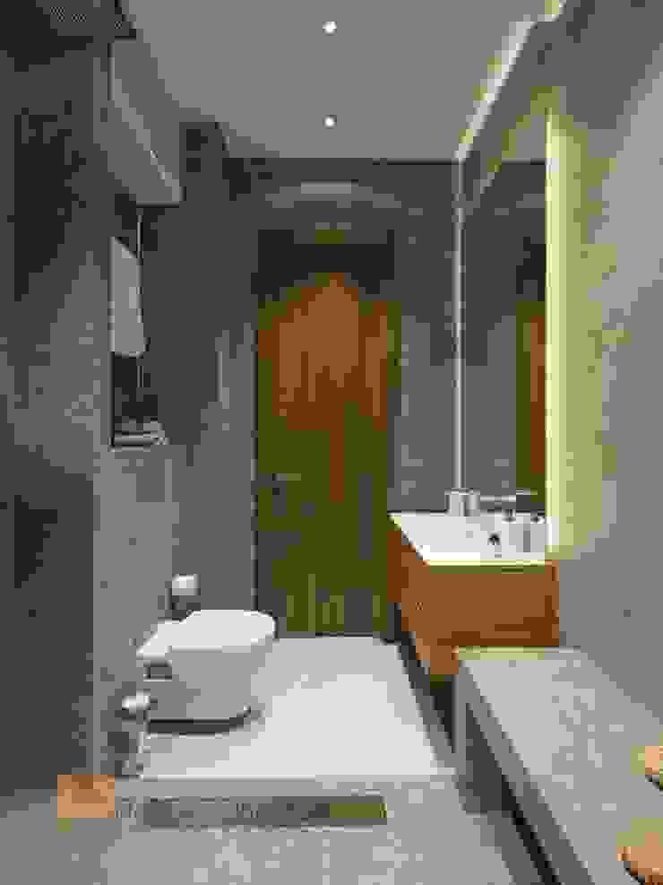 Душевая Ванная комната в стиле минимализм от Студия Павла Полынова Минимализм