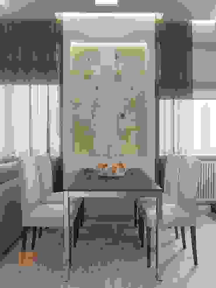 Кухня-гостиная Гостиная в стиле минимализм от Студия Павла Полынова Минимализм