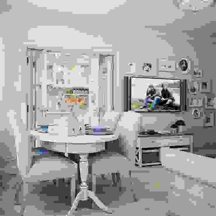Дизайн-проект 4-х комнатной квартиры, г. Москва Гостиная в стиле кантри от Анна Теклюк Кантри