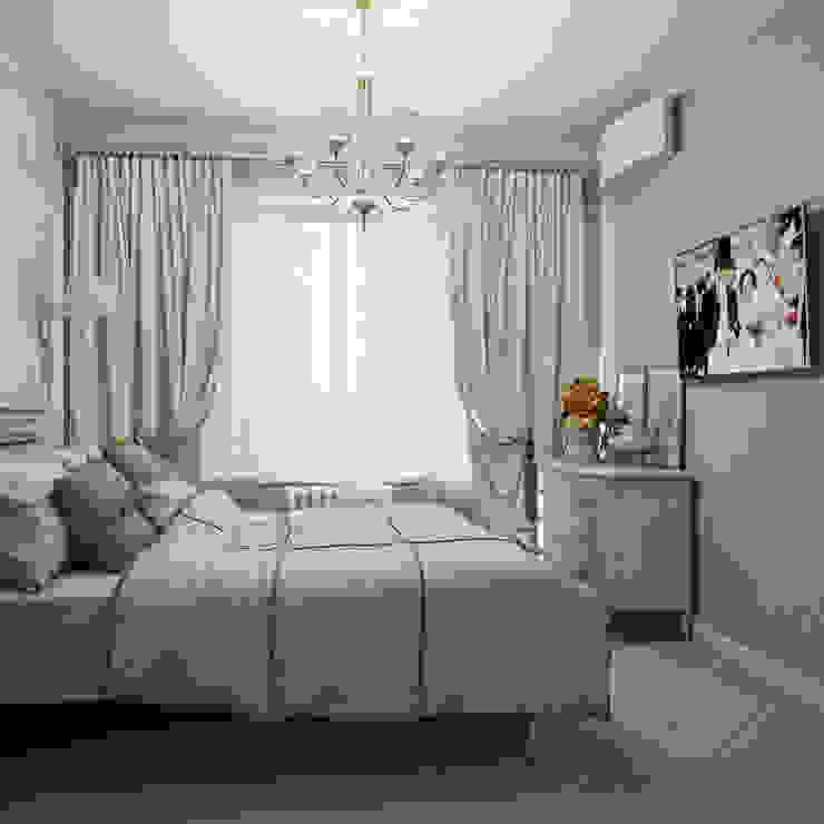 Дизайн-проект 4-х комнатной квартиры, г. Москва Спальня в стиле кантри от Анна Теклюк Кантри