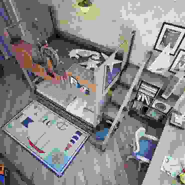 Детская в пиратском стиле Детские комната в эклектичном стиле от Анна Теклюк Эклектичный