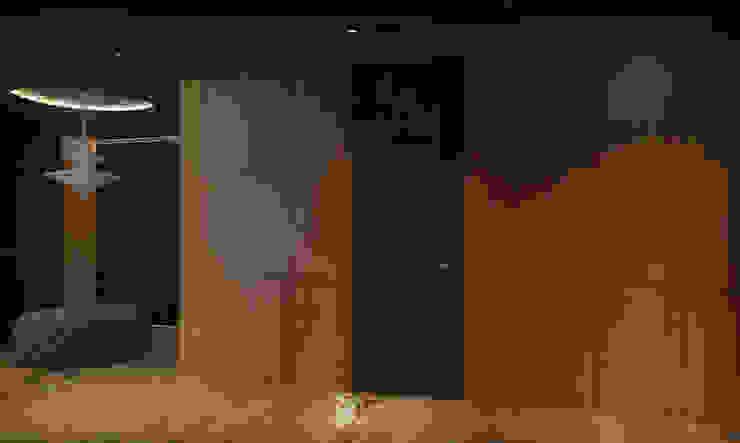 Квартира в Броварах 2 Коридор, прихожая и лестница в эклектичном стиле от 27Unit design buro Эклектичный