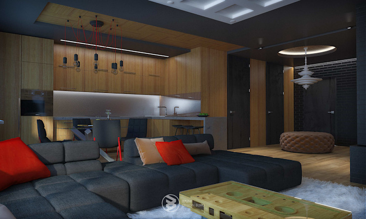 Квартира в Броварах 2 Кухни в эклектичном стиле от 27Unit design buro Эклектичный