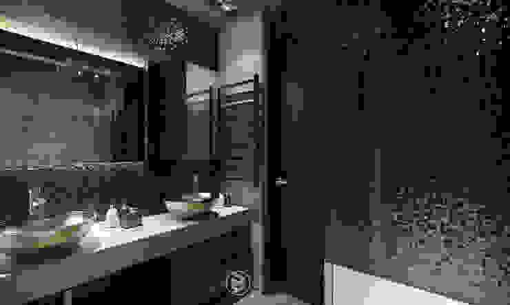 Квартира в Броварах 2 Ванная комната в эклектичном стиле от 27Unit design buro Эклектичный