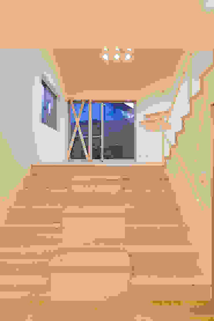 階段兼収納 モダンスタイルの 玄関&廊下&階段 の 株式会社かんくう建築デザイン モダン