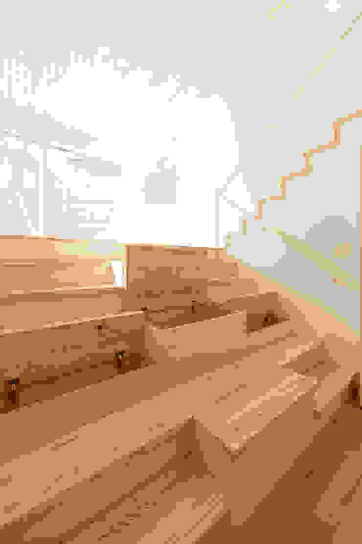 階段収納 モダンスタイルの 玄関&廊下&階段 の 株式会社かんくう建築デザイン モダン