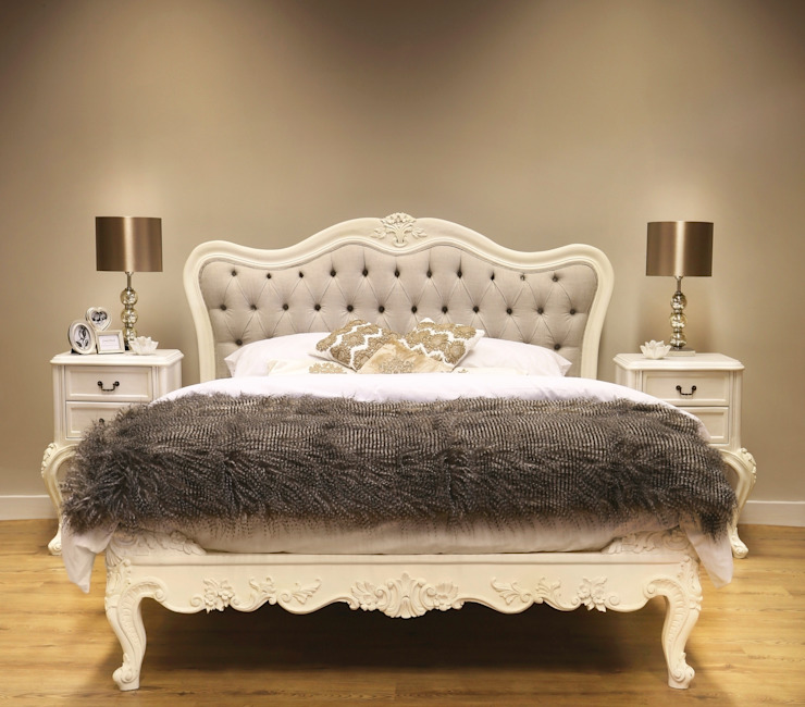 Furniture Classic style bedroom by CROWN FRENCH FURNITURE Classic