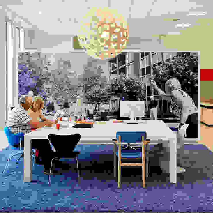 interieur Wooninc. Moderne kantoor- & winkelruimten van Burobas Modern
