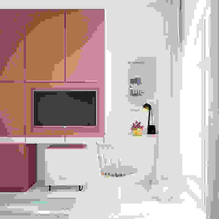 Дизайн интерьера объединенной квартиры в ЖК «Арабская ночь» (Алупка) ROMM Детская комната в стиле модерн