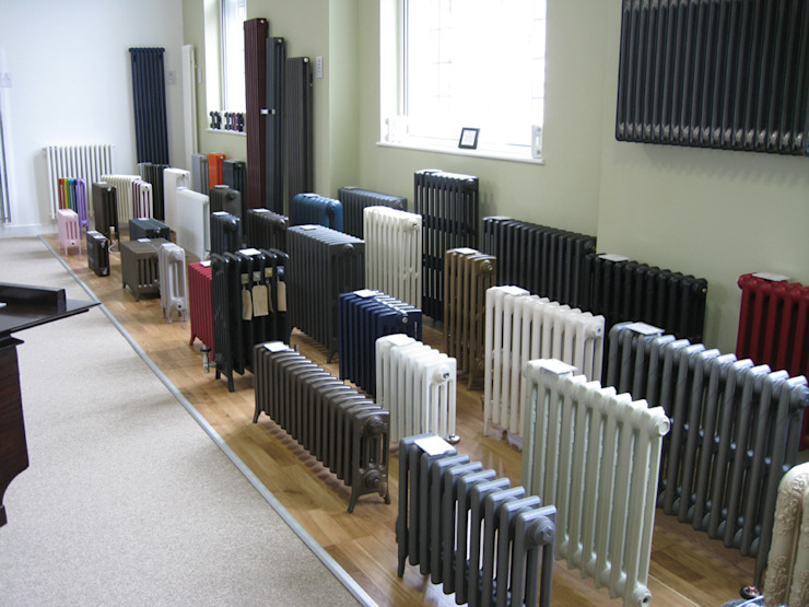 Cast iron radiators Feature Radiators Ruang Komersial Klasik