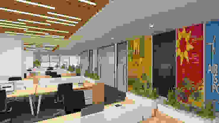 açık ofis Diff Mimarlık Modern