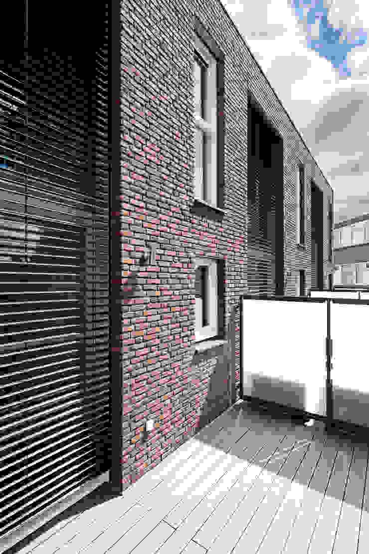 3 drive-in woningen AERDE BORGERT ARCHITECTEN Moderne huizen