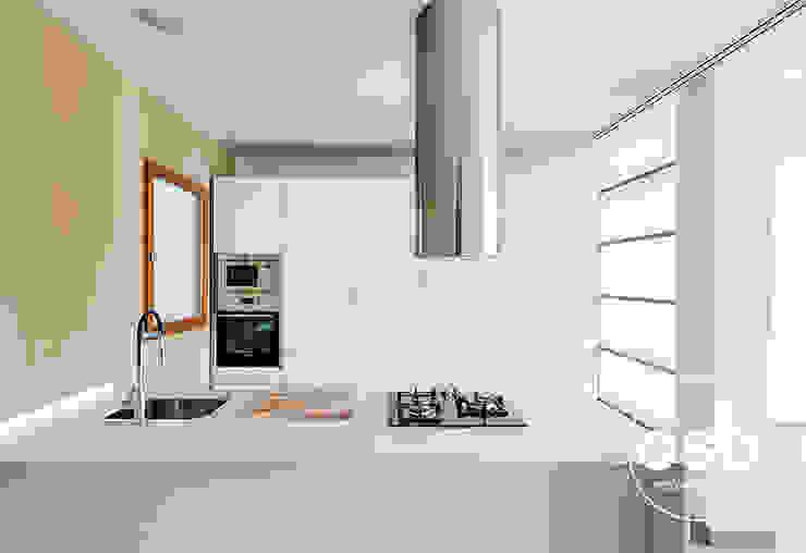 Cocina Cocinas de estilo moderno de osb arquitectos Moderno