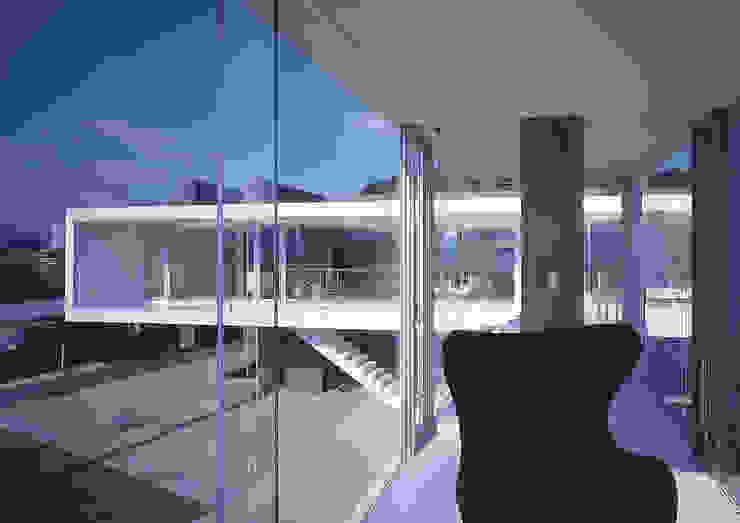 中山の住宅 モダンデザインの 多目的室 の アトリエ環 建築設計事務所 モダン