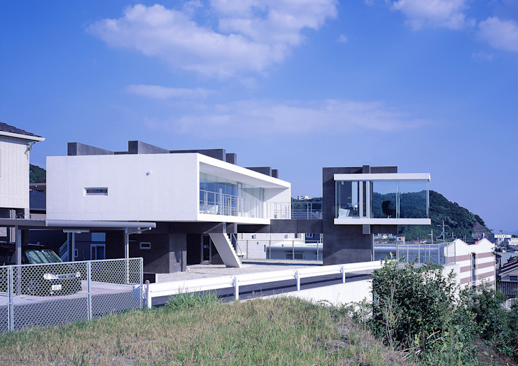 中山の住宅 モダンな 家 の アトリエ環 建築設計事務所 モダン