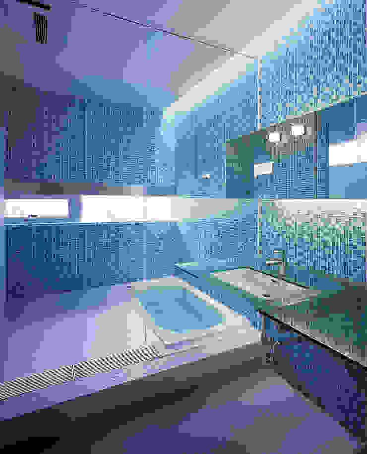 中山の住宅 モダンスタイルの お風呂 の アトリエ環 建築設計事務所 モダン