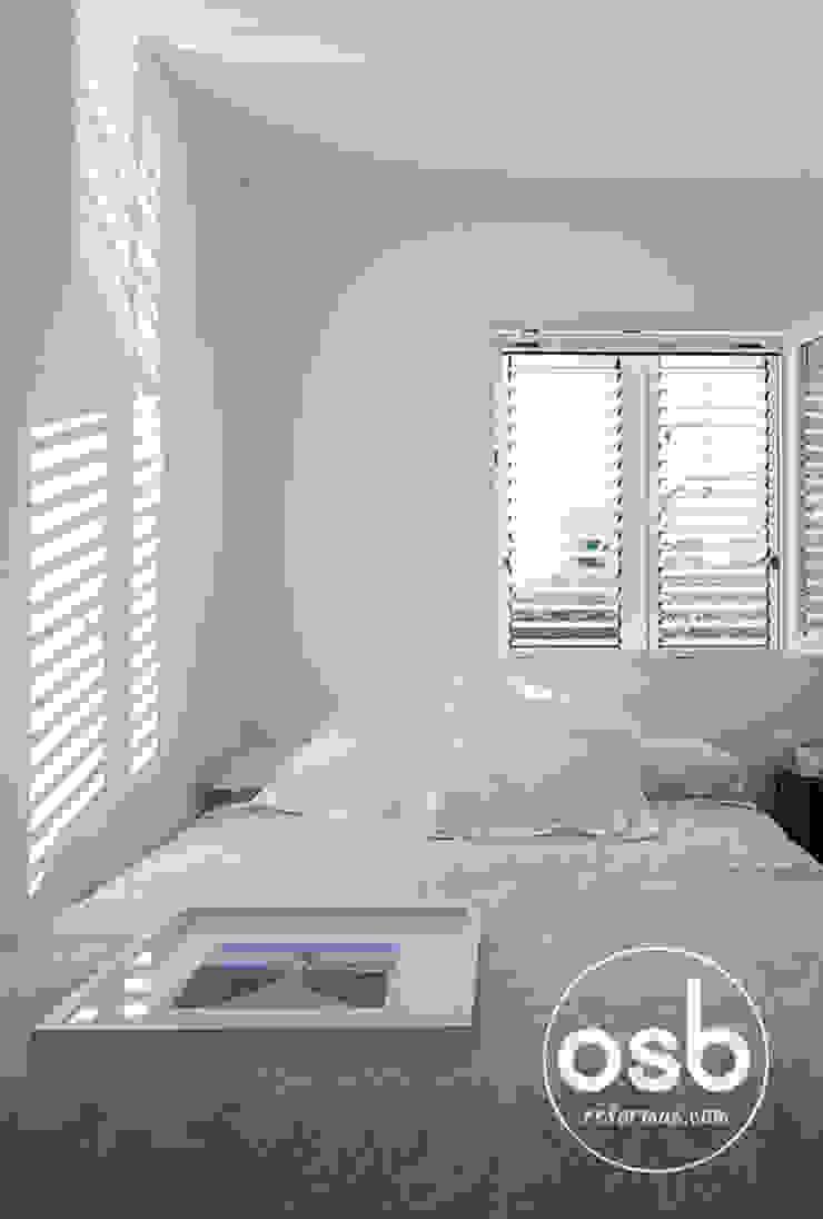 Dormitorio 01 Cuartos de estilo moderno de osb arquitectos Moderno