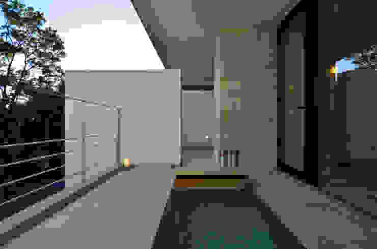 霧島の別荘 モダンスタイルの お風呂 の アトリエ環 建築設計事務所 モダン