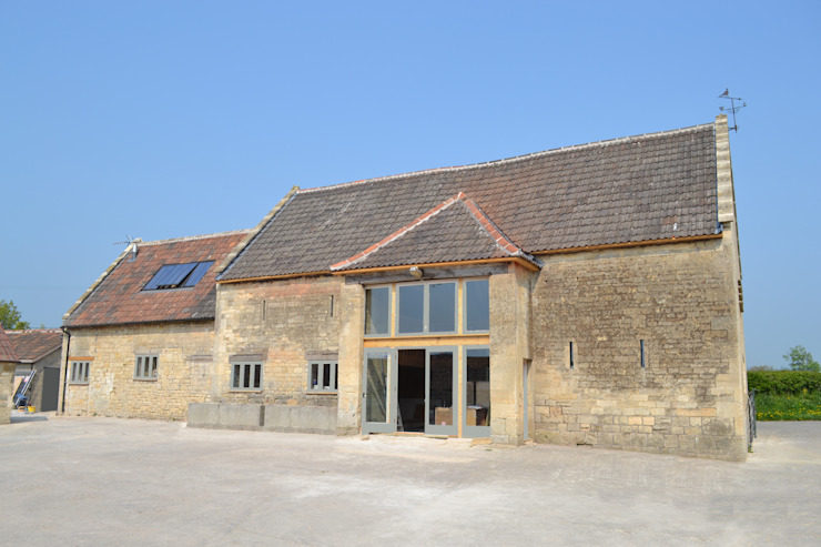 Converted barn Hetreed Ross Architects Country style houses