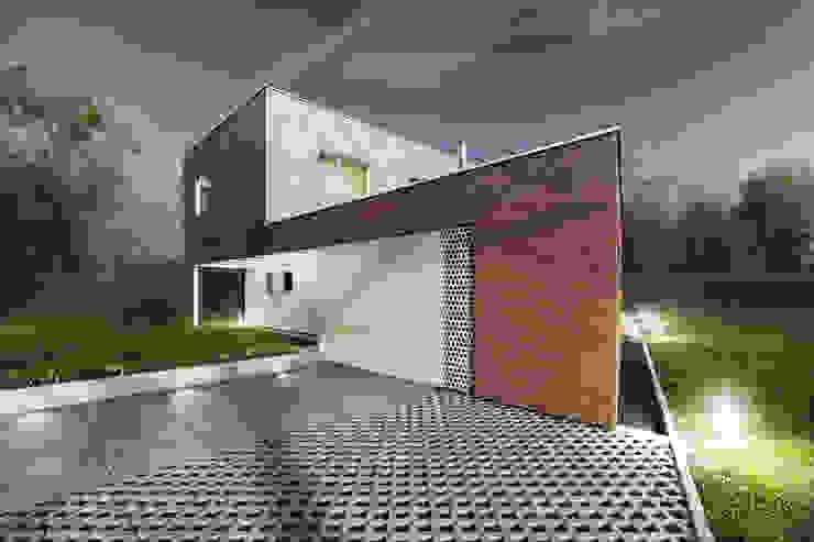 Dom jednorodzinny Rybnik Nowoczesne domy od modero architekci Nowoczesny
