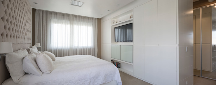 NRT | Dormitório Casal Quartos modernos por Kali Arquitetura Moderno