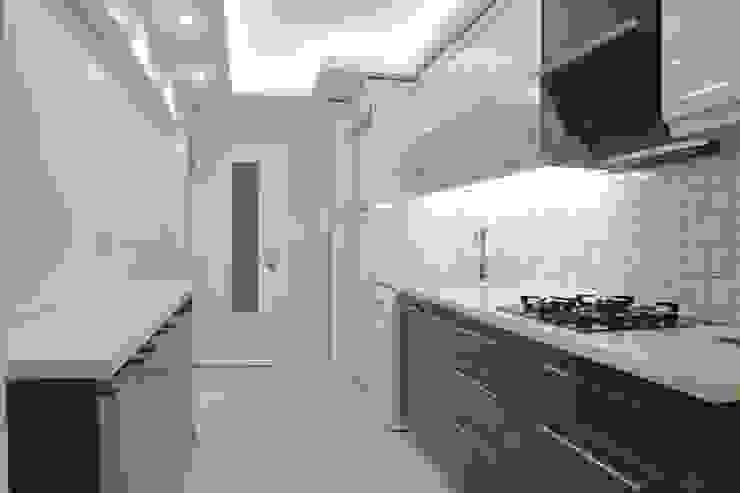 Narlıdere'de Yeni Bir Yaşam, İzmir Minimalist Mutfak ACS Mimarlık Minimalist
