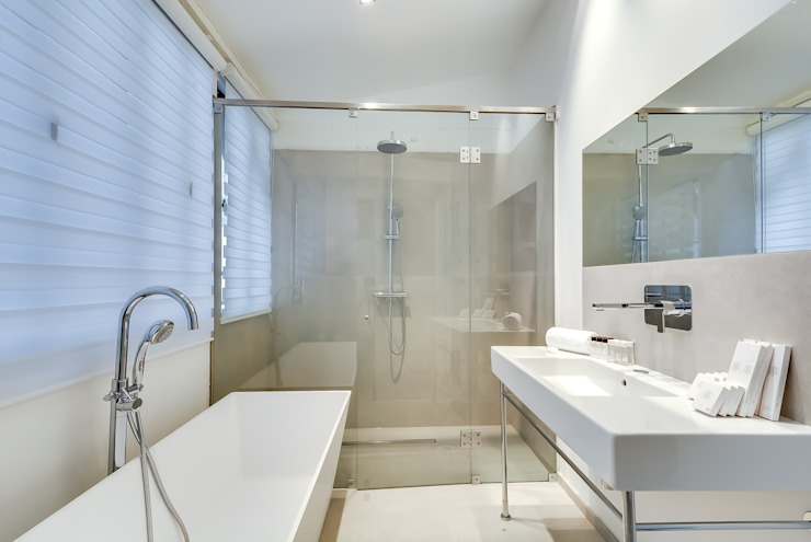 Loft parisien Salle de bain industrielle par Meero Industriel