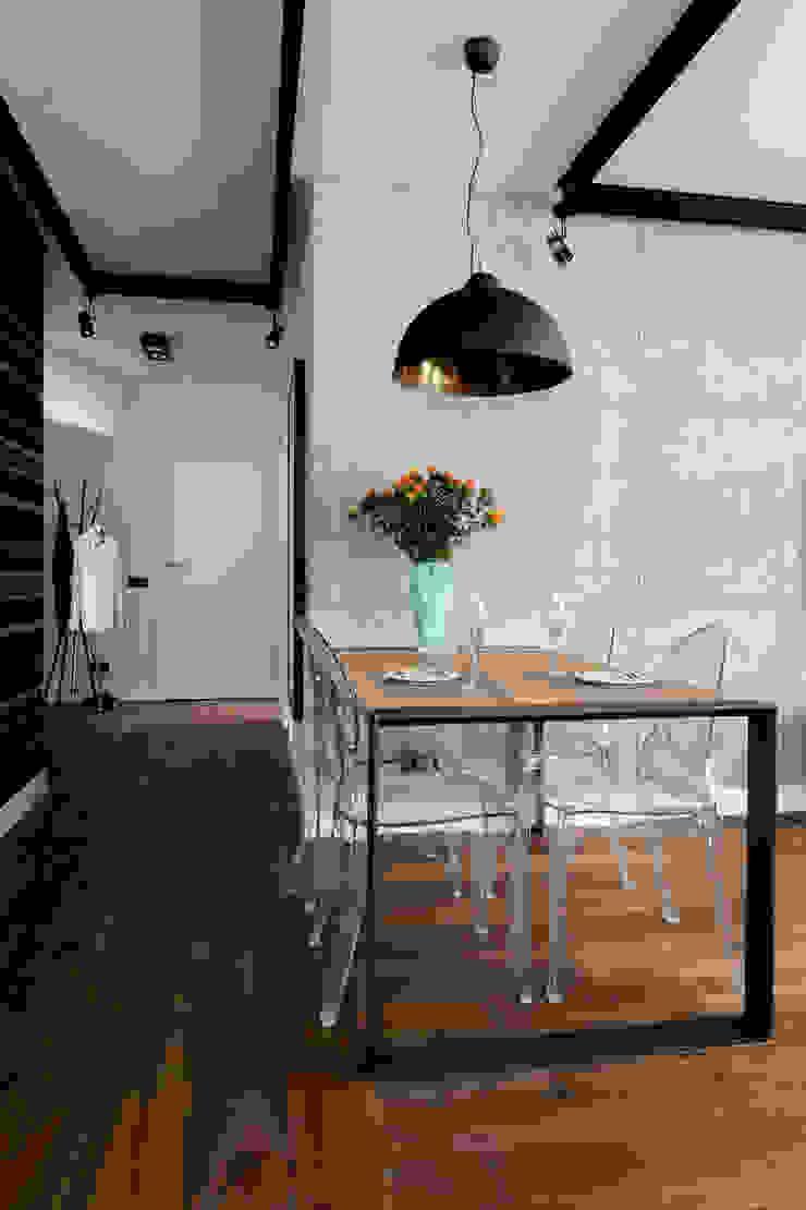 Jacek Tryc-wnętrza Ruang Makan Modern
