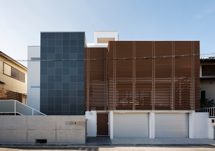 羽曳が丘の家: 内田雅章建築設計事務所が手掛けた家です。,モダン