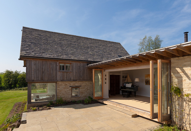 Cockadilly Country style houses by Millar+Howard Workshop Country