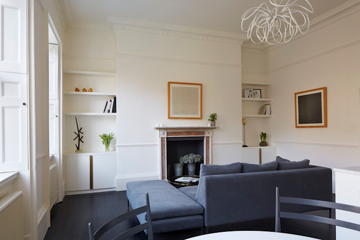 Living Room, Catherine Place, London Salon moderne par Concept Interior Design & Decoration Ltd Moderne