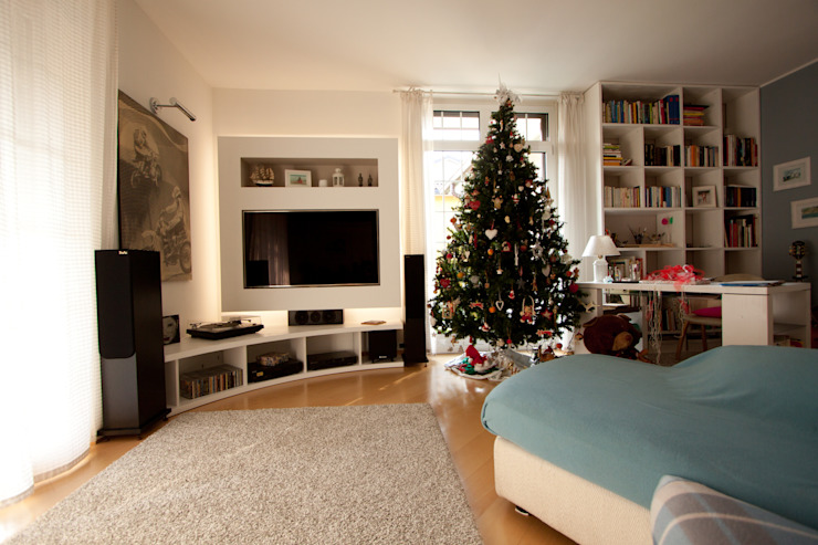 Phòng khách theo Effegieffe s.n.c.,