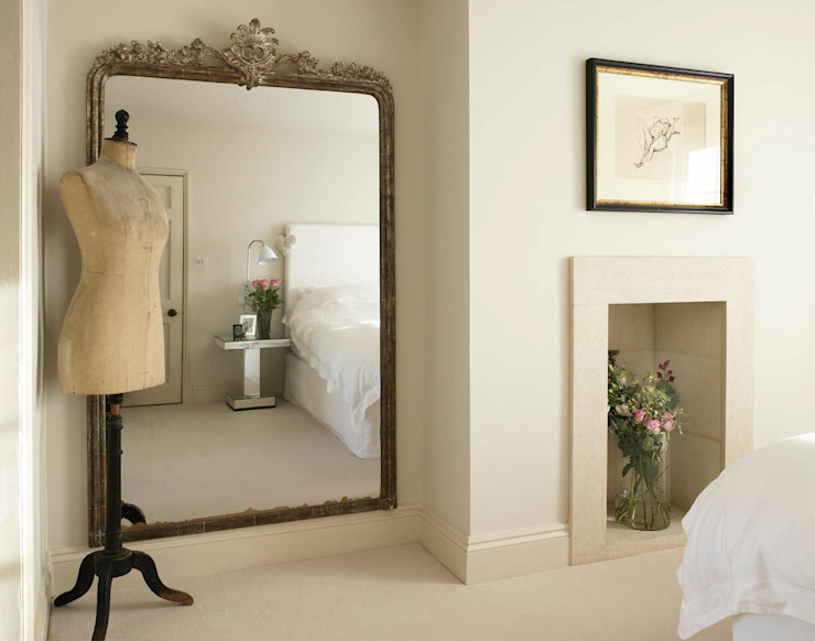 Bedroom, Richmond Place, Bath Ausgefallene Schlafzimmer von Concept Interior Design & Decoration Ltd Ausgefallen
