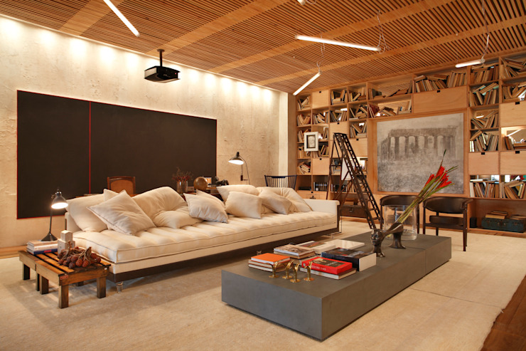 BC Arquitetos Modern living room