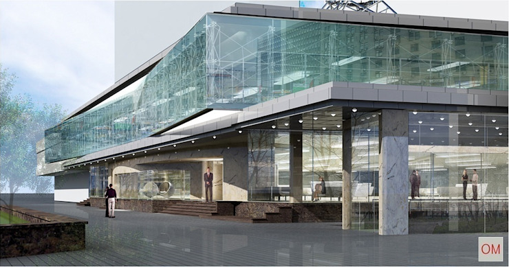 Обложка профиля Офисы и магазины в стиле модерн от ОМ Модерн