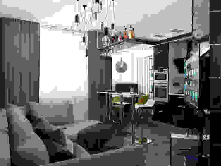 Фото для обложки Столовая комната в стиле минимализм от zQ design | design studio Минимализм