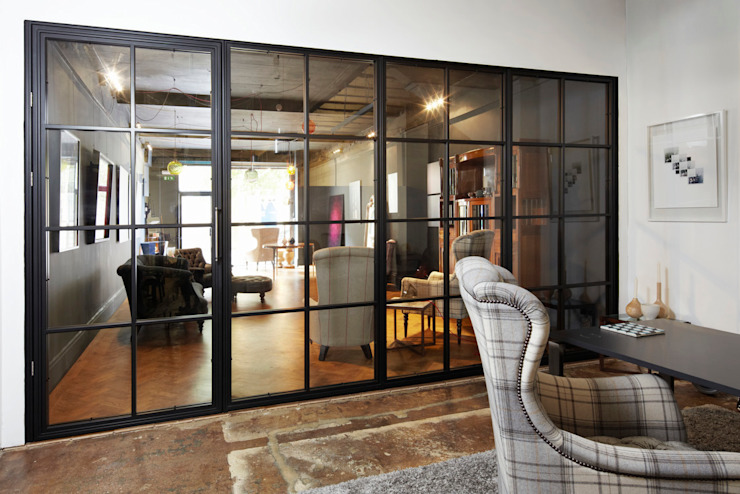 Glass doors by Work House Collection, Industrial
