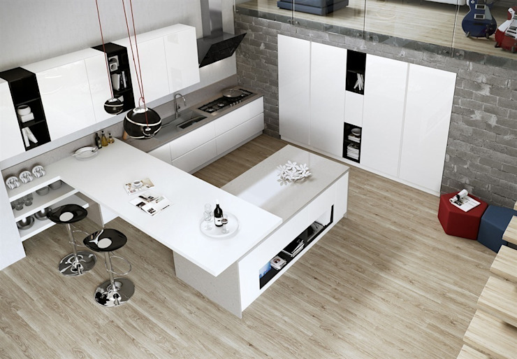 Outletarreda di A. Boz KitchenCabinets & shelves
