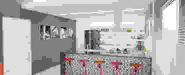 RESIDENCIA LP Cozinhas minimalistas por Impelizieri Arquitetura Minimalista