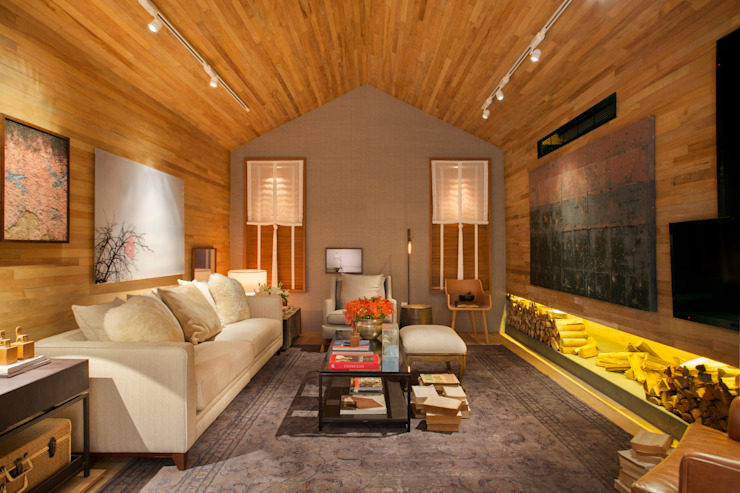 Salas de estar  por BC Arquitetos