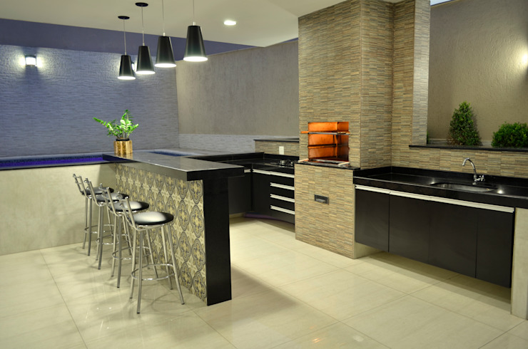 Modern kitchen by Impelizieri Arquitetura Modern