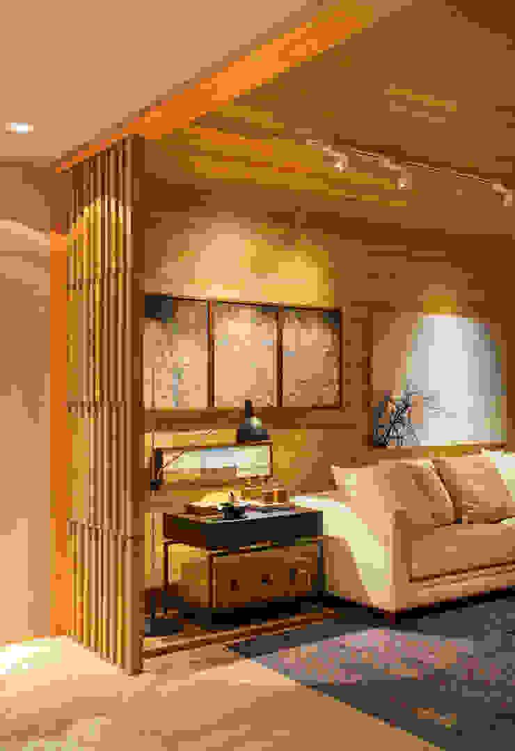 MOSTRA ARTEFACTO RIO 2015 Salas de estar modernas por BC Arquitetos Moderno