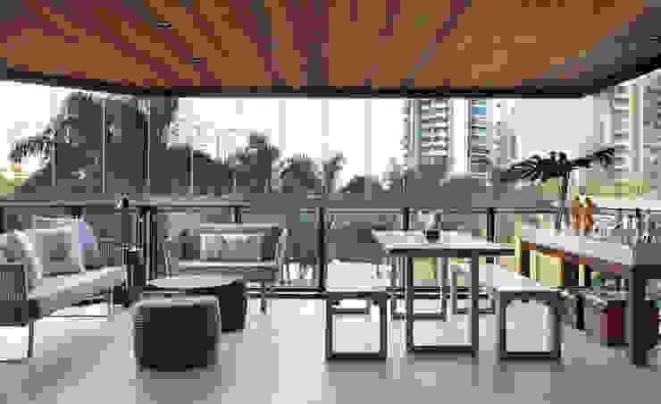 Livings de estilo moderno de BC Arquitetos Moderno