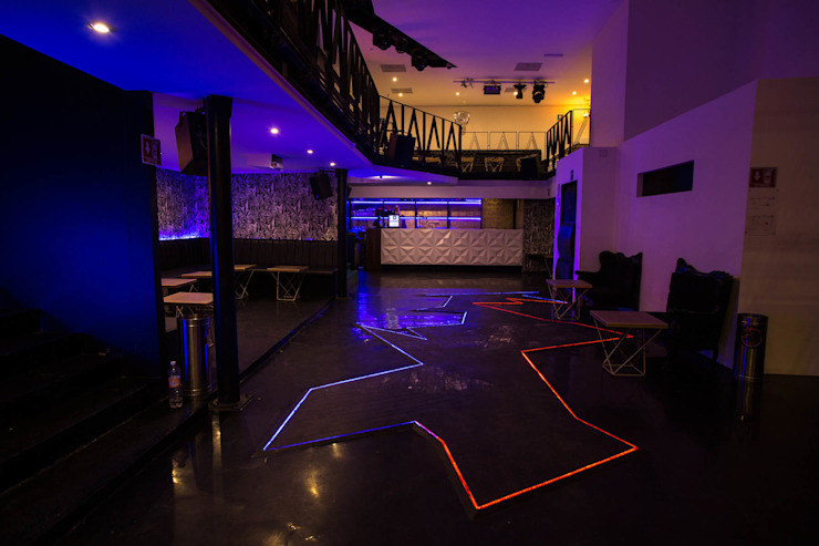 CLUB PRIVATE Bares y clubs de estilo moderno de Florencia Morán Moderno